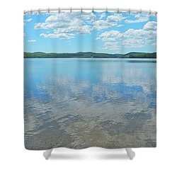Anasagunticook Lake, Canton, Me, Usa 10 Shower Curtain by George Ramos
