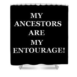 Ancestors Shower Curtain