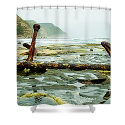 Anchor At Rest Shower Curtain