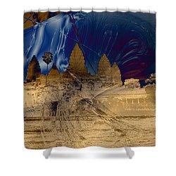Anchor Shower Curtain by David Jenkins
