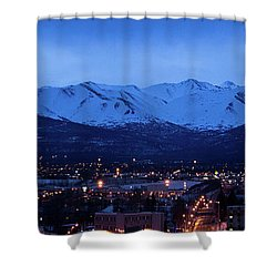 Anchorage At Sunrise Shower Curtain