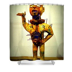 Ancient African Arifact Shower Curtain