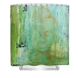 Ancient Buddha Shower Curtain