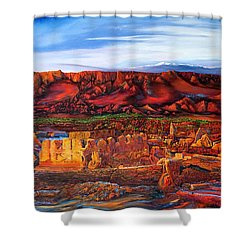 Ancient City Shower Curtain