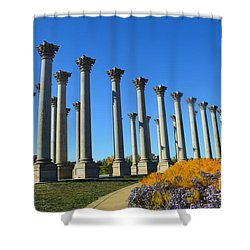 Ancient Corinthian Columns  Shower Curtain