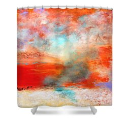 Ancient Dreams II Shower Curtain by M Diane Bonaparte