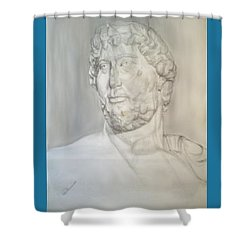 Ancient Greek Statue Shower Curtain