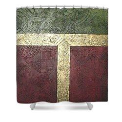 Ancient Hieroglyphics Shower Curtain