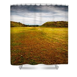 Ancient Indian Burial Ground  Shower Curtain