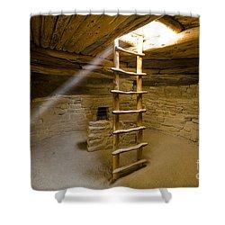 Ancient Kiva Shower Curtain