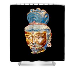 Ancient Warlord Shower Curtain