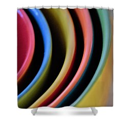 And A Dash Of Color Shower Curtain