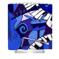 and All that Jazz 3  Shower Curtain