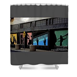 And All That Jazz Shower Curtain