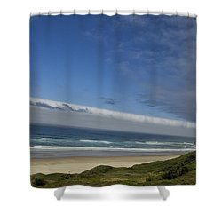 Shower Curtain featuring the photograph And Miles To Go  by Tom Kelly