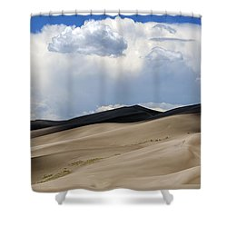 And Then The Storm Shower Curtain