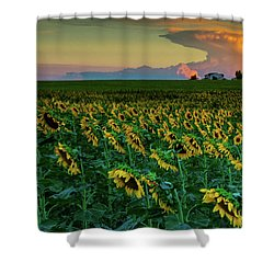 And Then Things Went Nuclear Shower Curtain