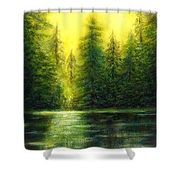 ...and There Was Morning Shower Curtain