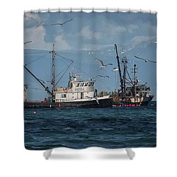 Kornat And Western Investor Shower Curtain by Randy Hall