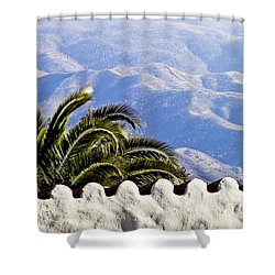 Andalusian View Shower Curtain by Heiko Koehrer-Wagner