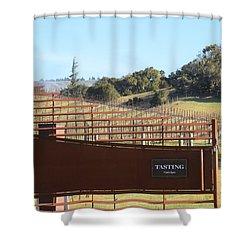 Anderson Valley Vineyard Shower Curtain