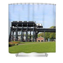 Anderton Boat Lift Shower Curtain