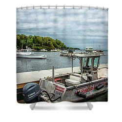 Shower Curtain featuring the digital art Andre by Daniel Hebard