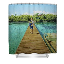 Andrew Shower Curtain