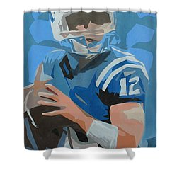 Andrew Luck II Shower Curtain