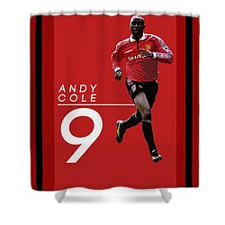 Andy Cole Shower Curtain