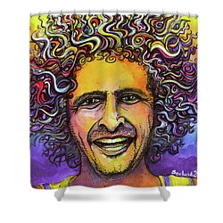 Andy Frasco Shower Curtain