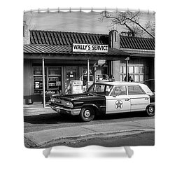 Andy Griffith And Mayberry Shower Curtain