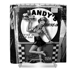 Andy's Drive-in II Shower Curtain