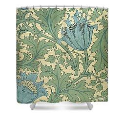 Anemone Design Shower Curtain by William Morris