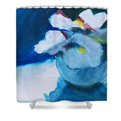 Anemones Shower Curtain by Ed  Heaton