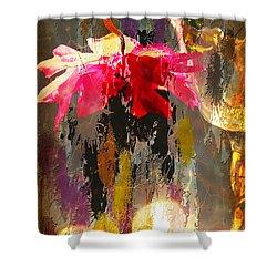 Anemone Monday Shower Curtain by Jolanta Anna Karolska