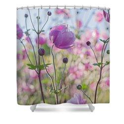 Anemone Softness  Shower Curtain