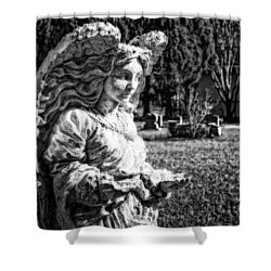 Angel 006 Shower Curtain