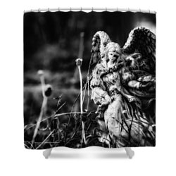 Angel 007 Shower Curtain
