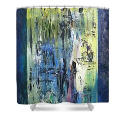 Angel 1 Shower Curtain by Hal Newhouser