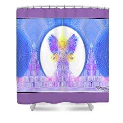 Angel #200 Shower Curtain