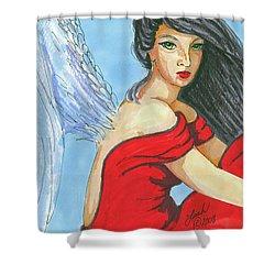 Angel Among Us Shower Curtain