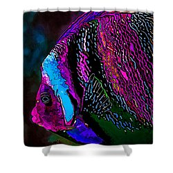 Angel Face 1 Shower Curtain by ABeautifulSky Photography