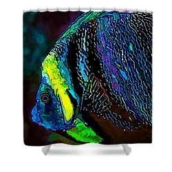 Angel Face 3 Shower Curtain by ABeautifulSky Photography