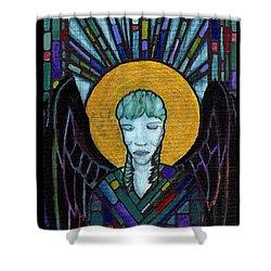 Angel Garbriel Shower Curtain