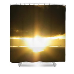 Angel Incoming Shower Curtain