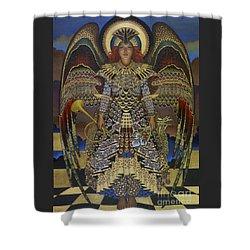 Angel Shower Curtain by Jane Whiting Chrzanoska