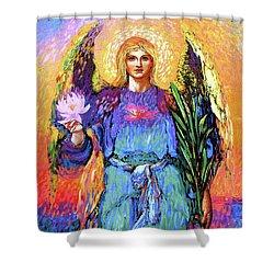 Angel Love Shower Curtain