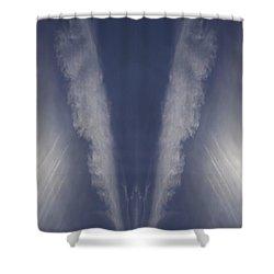 Angel Number Nine Shower Curtain by Kevin Blackburn