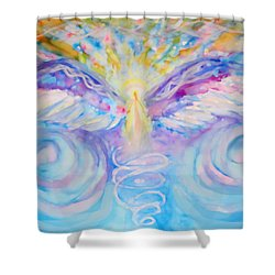 Angel Of Change Shower Curtain